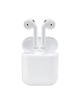 Apple Air Pods 2nd Generation With Wired Charging Case & Accessories by Qvc