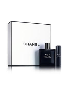 Bleu De Chanel Eau De Toilette Travel Spray Set by Chanel