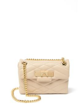 Leather Mini Mayfair Crossbody Bag by Kurt Geiger London