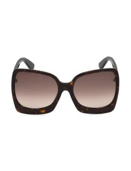 Emmanuella 60 Mm Oversize Square Sunglasses by Tom Ford