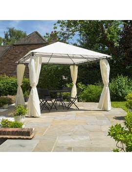 4m X 3m Metal Patio Gazebo by Hazelwood Home