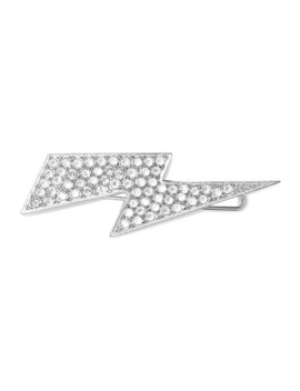 Silver Tone Crystal Hairclip by Isabel Marant
