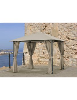3m X 3m Nizza Steel Patio Gazebo by Quick Star