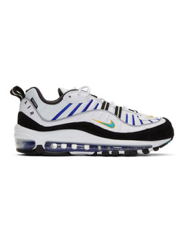 White Air Max 98 Premium Sneakers by Nike
