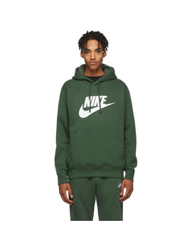 Green Graphic Club Hoodie by Nike