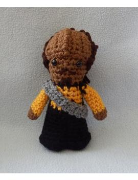 Made To Order, Hand Crocheted Worf Klingon Star Trek Like The Next Generation Amigurumi Doll by Etsy
