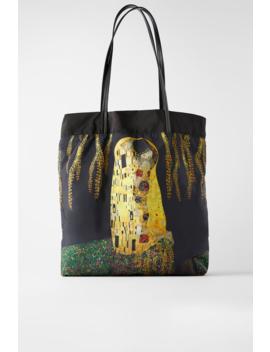 Reversible Xl Klimt Tote Bag New Inwoman by Zara