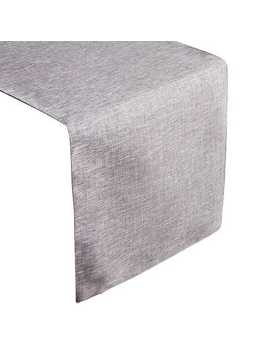 """72"""" Woven Sheen Charcoal Table Runner by Pier1 Imports"""