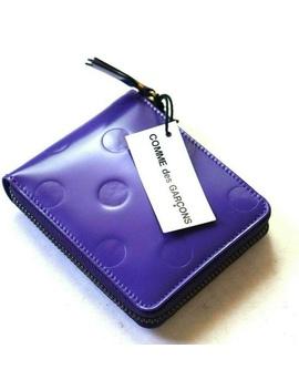 Comme Des Garcons Purple Polka Dot Wallet NewBoutique by Comme Des Garcons