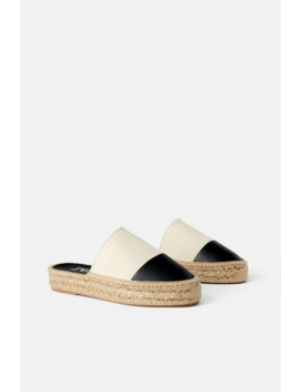 Toe Cap Espadrille Mules View All Shoes Woman by Zara