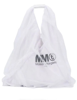 Layered Logo Tote by Mm6 Maison Margiela