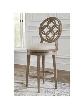 Driftwood Wire Brush Guilford Bar & Counter Swivel Stool by Greyleigh