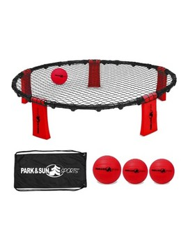 Park & Sun Sports Rally Fire Portable Spike Volleyball Game Set With Accessories by Park & Sun Sports