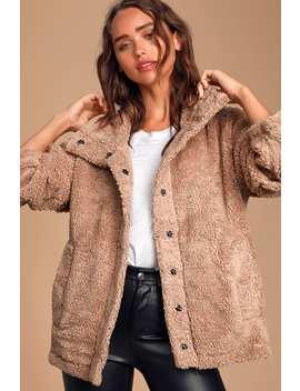 Cozy Days Blush Sherpa Jacket by Billabong
