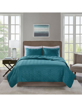 510 Design Korie 3 Pc. Solid Coverlet Set by 510 Design