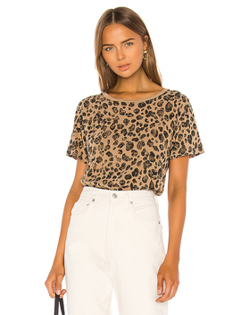 Classic Tee In Leopard by Amo