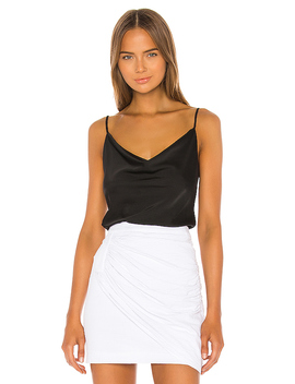 Harmony Cami Top In Black by Nbd