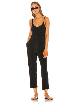 X Revolve Gia Jumpsuit In Black by Shaycation