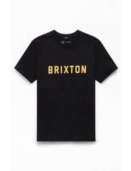 Brixton Black Puck T Shirt by Pacsun