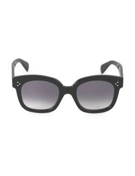 55 Mm Square Cateye Sunglasses by Celine