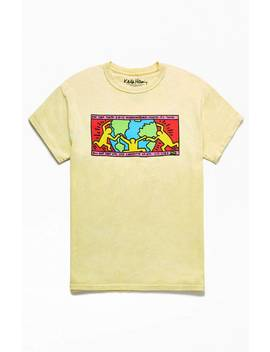 Keith Haring Hugging T Shirt by Pacsun