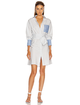 Wrap Shirtdress by Frame