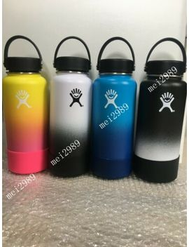 Hydro Flask Insulated Stainless Steel Water Bottle W/Flex Cap+Free Flex Boot by Hydro Flask