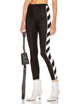 Diagonal Athletic Legging by Off White