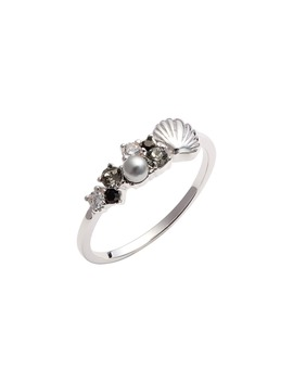 Shell Bubble Ring by Olivia Burton