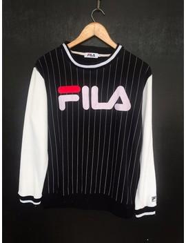 Authentic Fila Big Logo Stripes by Fila  ×  Street Wear  ×