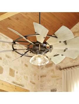 """44"""" Mercado 10 Blade Ceiling Fan by Gracie Oaks"""
