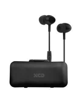 Xcd In Ear Earphones With Storage Case (Black) by Xcd