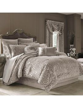 J. Queen New York™ Sicily Comforter Set In Pearl by Bed Bath And Beyond