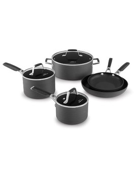 Select By Calphalon 8pc Hard Anodized Non Stick Cookware Set by Anodized Non