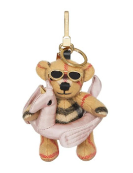 Thomas Bear Charm In Pool Float by Burberry