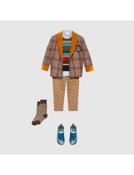 Children's Gg Canvas Trousers by Gucci