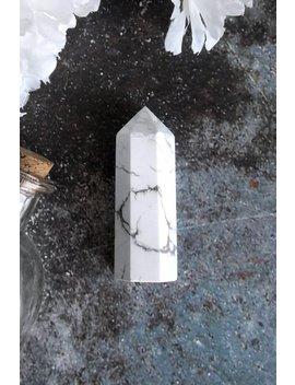 White Howlite Crystal by Killstar