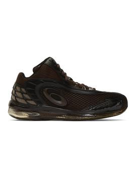 Brown Asics Edition Gel Sokat Infinity 2 Sneakers by Kiko Kostadinov
