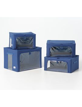 Periea Set Of 4 Assorted Collapsible Storage Box Collection by Periea