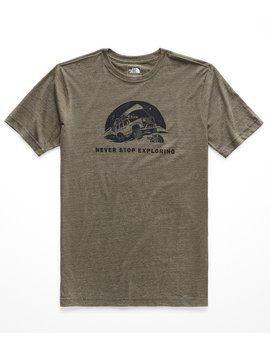 Slim Fit Pony Wheels Jeep Graphic T Shirt by The North Face