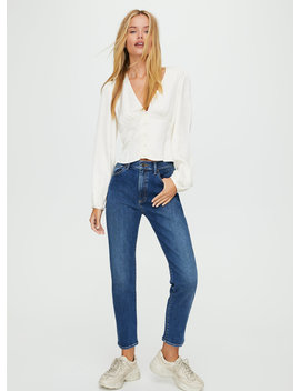 Cora High Rise Slim Jean by Sunday Best