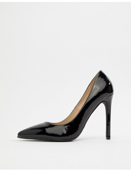 Raid Wide Fit Pauline Patent Pumps by Raid