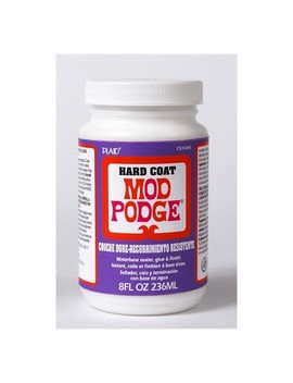 Mod Podge 8oz Hard Coat Glue Clear by Mod Podge