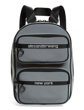 Medium Attica Reflective Backpack by Alexander Wang
