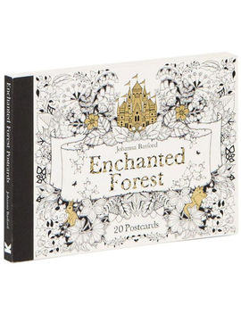 Enchanted Forest Postcards: Set Of 20 by Johanna Basford