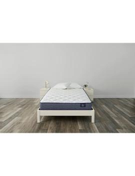 Serta Sleep True 10.5 Inch Malloy Plush Innerspring Mattress   Full by Serta