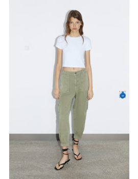Basic Cropped T Shirt View All T Shirts Woman by Zara