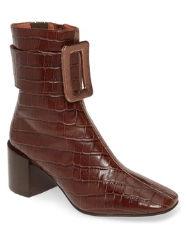 Godard Colorblock Buckle Boot by Jeffrey Campbell