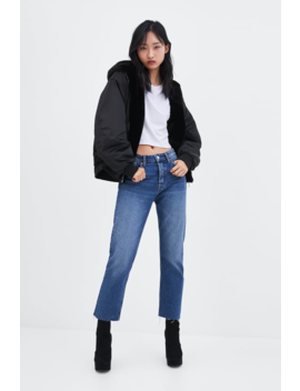 Reversible Bomber Jacket  Faux Fur Coats Trf Sale by Zara