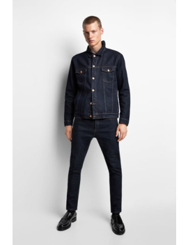 Denim Jacket  New Inman by Zara